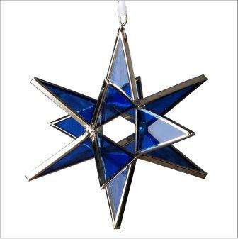 Stained Glass Moravian Star - Serenity