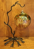Wrought Iron Twig Display Stand