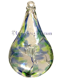 Blown Glass Memory Teardrop