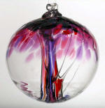 Blown Glass Tree of Life - Love