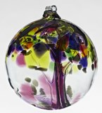 Blown Glass Tree of Life - Gratitude