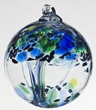 Blown Glass Tree of Life - Encouragement