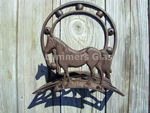 Cast Iron Horse Hose Holder