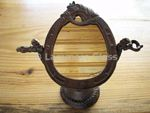 Cast Iron Horse Mirror