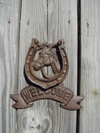 Horse Shoe Welcome Door Knocker