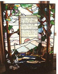 Duck Methodist Stained Glass By Lammers