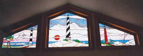 Stained Glass Lighthouses By Lammers