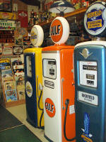 Fully restored Gas Pumps Available