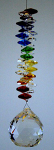 Rainbow Hanging Crystal Prism Shakra Rainbow w/ 30mm