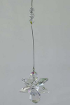 Iridescent Hanging Crystal Prism Angel