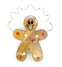 GingerBread Man Suncatcher/Nightlight