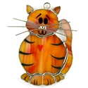 Kitty Cat Stained Glass Nightlight Suncatcher