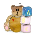 Bear with Blocks Suncatcher/Nightlight