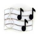 Music Notes Nightlight or Suncatcher