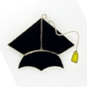Graduation Cap Stained Glass Nightlight or Suncatcher