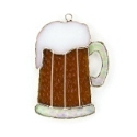 Beer Mug Stained Glass Nightlight or Suncatcher