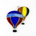 Hot Air Balloon Stained Glass Nightlight or Suncatcher