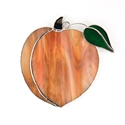 Peach Stained Glass Nightlight Suncatcher