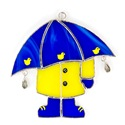 April Showers Stained Glass Nightlight Suncatcher