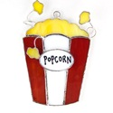 Popcorn Stained Glass Nightlight Suncatcher
