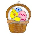 Easter Basket Stained Glass Nightlight Suncatcher