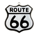 Route 66 Stained Glass Nightlight Suncatcher